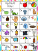 Alphabet, Vowel, bdpq Chart (COLOR & BW) ~ FREEBIE