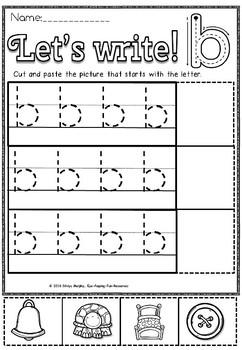 Alphabet  WRITE
