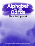 Alphabet Wall Black Bundle (with and without ASL)