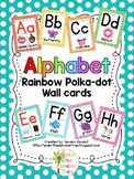 Polka Dot Alphabet Wall Cards