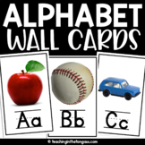 Alphabet Wall Cards (Real Life Photo Alphabet Cards)