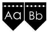 Alphabet Wall Cards (B&W)