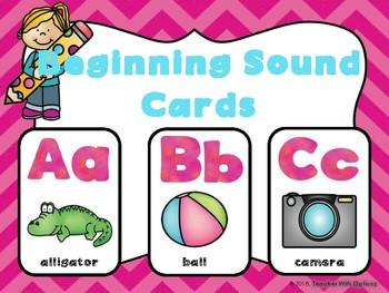 Beginning Sounds Cards