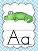 Alphabet Wall Cards {Chevron}