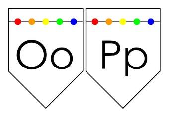Alphabet Wall Cards (Color)