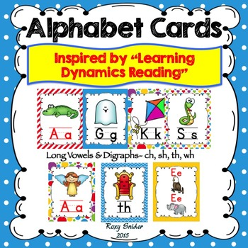 Alphabet Wall Cards - Learning Dynamics Reading Inspired