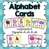 Alphabet Wall Cards - Polka Dots