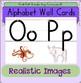 Alphabet Wall Cards: Orton-Gillingham phonics based. Singl