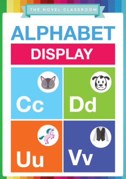 Alphabet Wall Display for A-Z