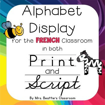 Alphabet Posters ~French~