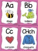 Alphabet Wall & Flashcards - SPANISH