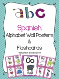 Alphabet Wall & Flashcards - SPANISH
