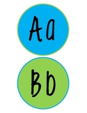 Alphabet Wall Letters (4 inches by 4 inches)