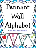 Alphabet Wall Pennant/Bunting
