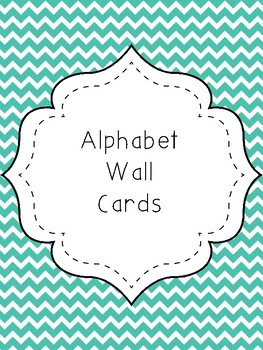 Alphabet Wall Posters