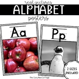 Alphabet Wall Posters and flashcards with Real Pictures