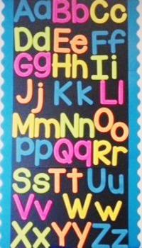 Alphabet Wall Template
