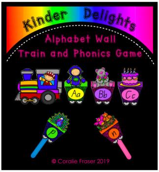 Alphabet Wall Train and Phonics Game