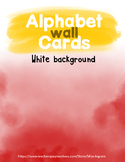 Alphabet Wall White Bundle (with and without ASL)