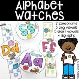 Alphabet Watches