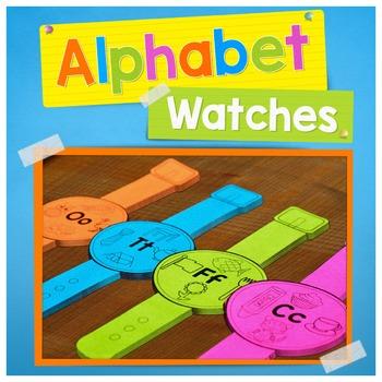 Alphabet Activities | Alphabet Watches | Letter Sounds Watches