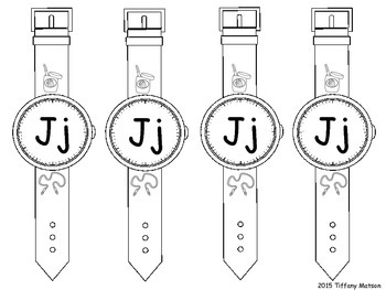 Alphabet Watches