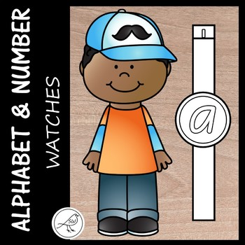 Alphabet and Number Watches