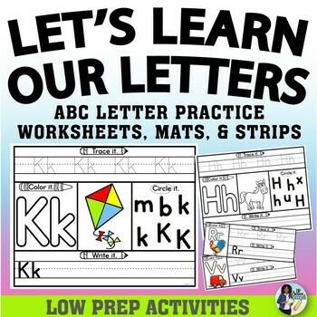 Alphabet Webs Handwriting Set