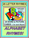 """Alphabet Rhymes!"" -- Group Game Fun with 26 Letter Rhymes, A-Z"