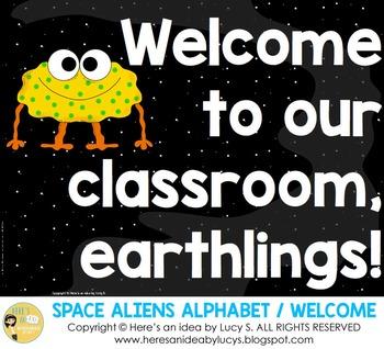 Alphabet & Welcome