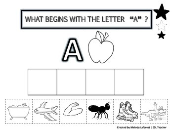 Alphabet: What Begins With