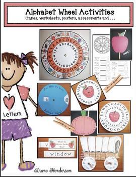 Alphabet Wheel Activities