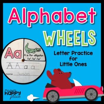 Alphabet Wheels - Letter Sounds Practice