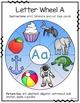 Alphabet Wheels - Clip Cards Literacy Center