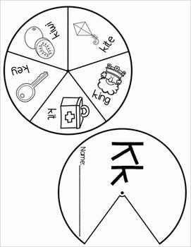 Alphabet Wheels
