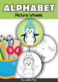 Alphabet Picture Wheels