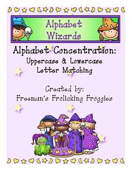 Alphabet Wizards-Alphabet Concentration
