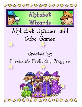 Alphabet Wizards-Alphabet Spinner and Cube Games