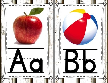 Alphabet (Woodland Theme)