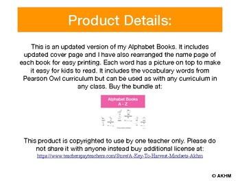 Alphabet Word Book (A - M)