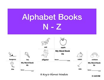 Alphabet Word Book (N-Z)