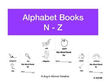 Alphabet Word Book (N-Z)