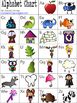 Alphabet, Word Families, Blends, Diagraph Charts