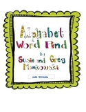 Alphabet Word Find
