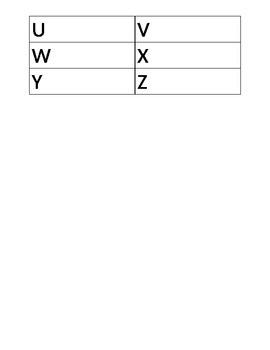Alphabet Word Hunt