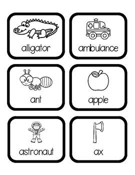 Alphabet Word Hunts/Write the Room BUNDLE: Consonants, Short Vowels, Long Vowels