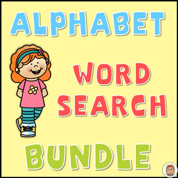 Alphabet Word Search Puzzles