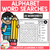 Alphabet Word Searches
