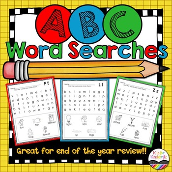 ABC Word Searches