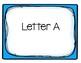 Alphabet Word Wall